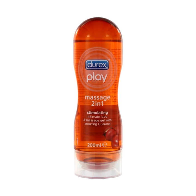 GEL MASSAGGIO E LUBRIFICANTE DUREX MASSAGE 2 IN 1 Stimulating , 200ml
