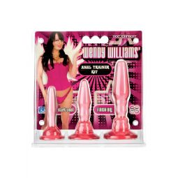Kit anale WENDY WILLIAMS ANAL TRAINER KIT